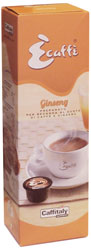Ecaffe Ginseng Coffee Capsules - Espresso with Ginseng Coffee