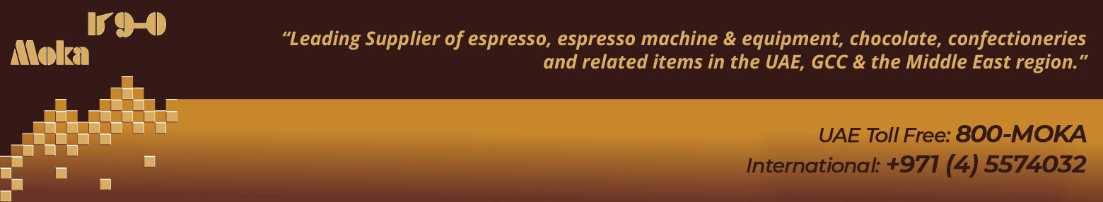 Moka Dubai, UAE - Espresso Coffee, Coffee Machine & Equipment, Chocolate & Gift Items for the UAE, GCC & Middle East region